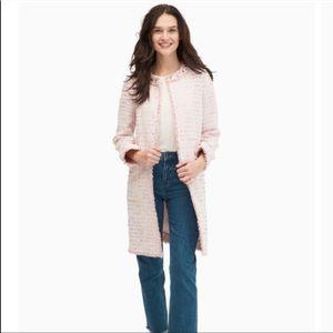 Kate spade pink  blazer coat size 0